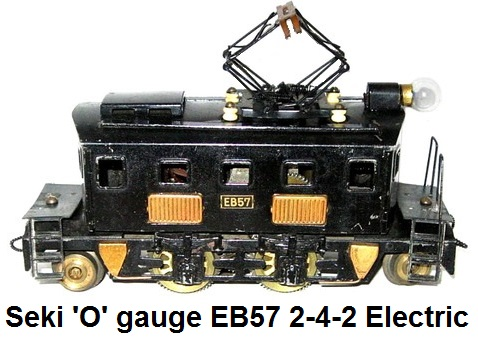 Seki 'O' gauge EB57 Pre-war 2-4-2 Electric outline loco