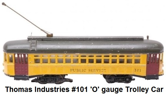 Thomas Industries 'O' gauge #101 Trolley