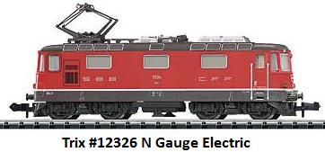 Trix #12326 Electric in N gauge