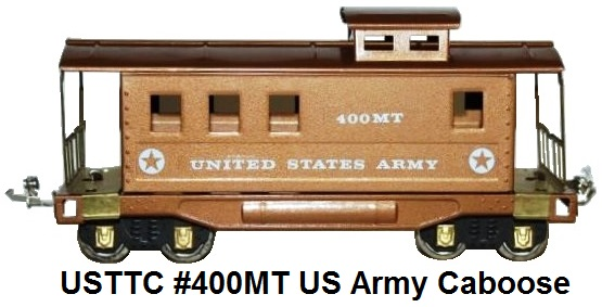 USTTC #400MT US Army Caboose made 1979-80