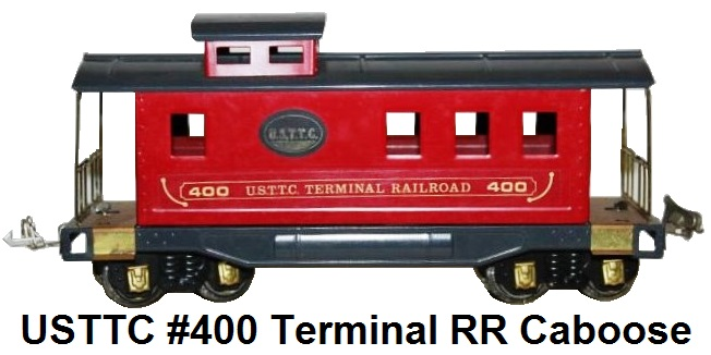 USTTC #400 Terminal Railroad Red Caboose 1977-78