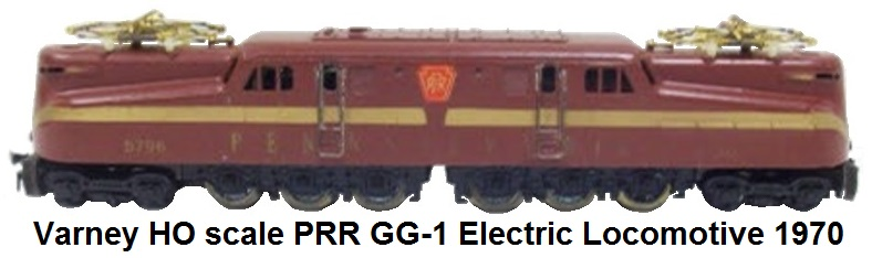 Varney HO scale PRR #5796 GG-1 Electric Locomotive circa 1970