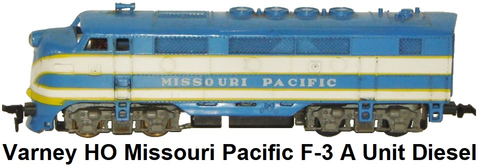 Varney HO F-3 Missouri Pacific Plastic A unit Diesel Loco power unit