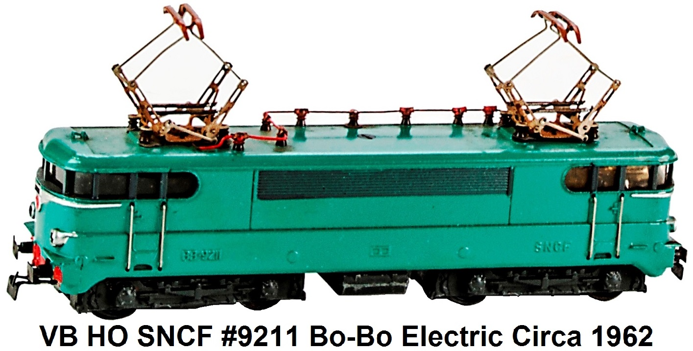 VB HO Scale SNCF BB #9211 circa 1962
