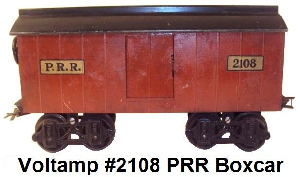 Voltamp 2 inch gauge #2108 PRR box car