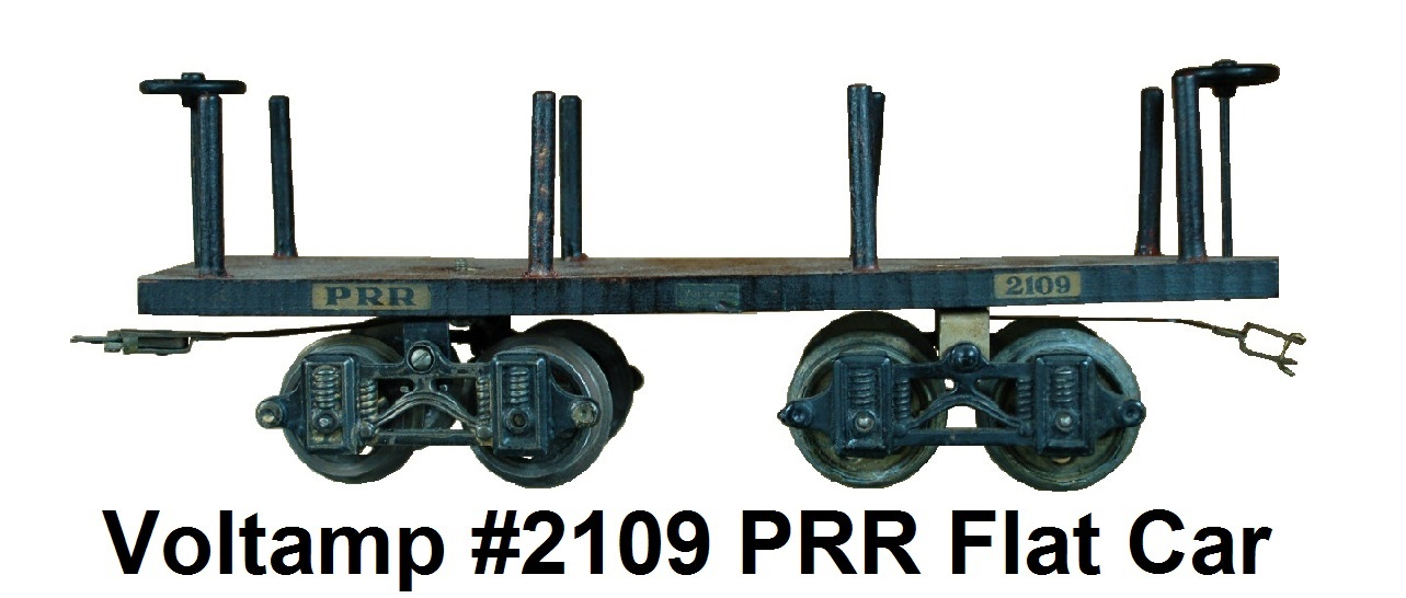 Voltamp 2 inch gauge #2109 PRR flat car