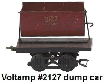 Voltamp 2 inch gauge #2127 dump car