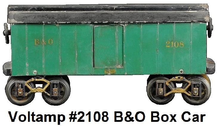 Voltamp 2 inch gauge #2108 B&O Box car