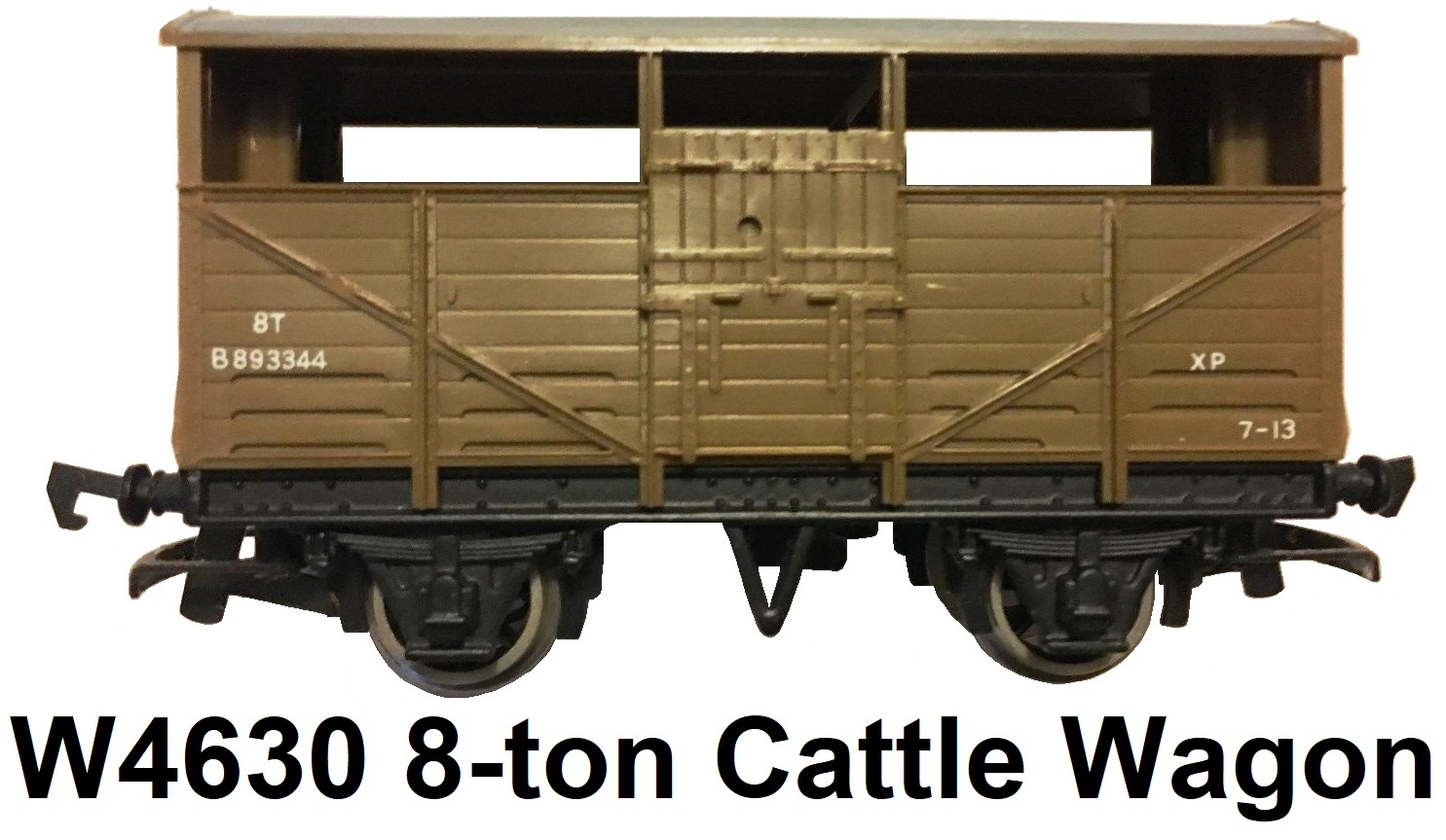 G & R Wrenn Railways OO/HO gauge W4630 8-ton Cattle Wagon #893344