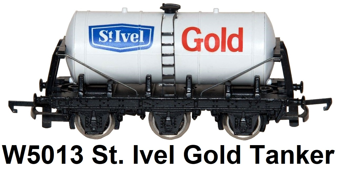 G & R Wrenn Railways OO/HO gauge W5013 St. Ivel Gold 6 Wheeled Tanker