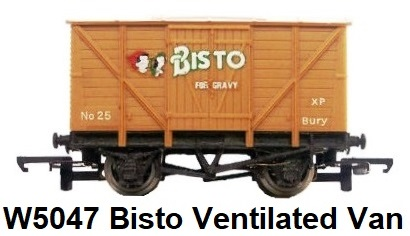 G & R Wrenn Railways OO/HO gauge W5047 Bisto Ventilated Van #25