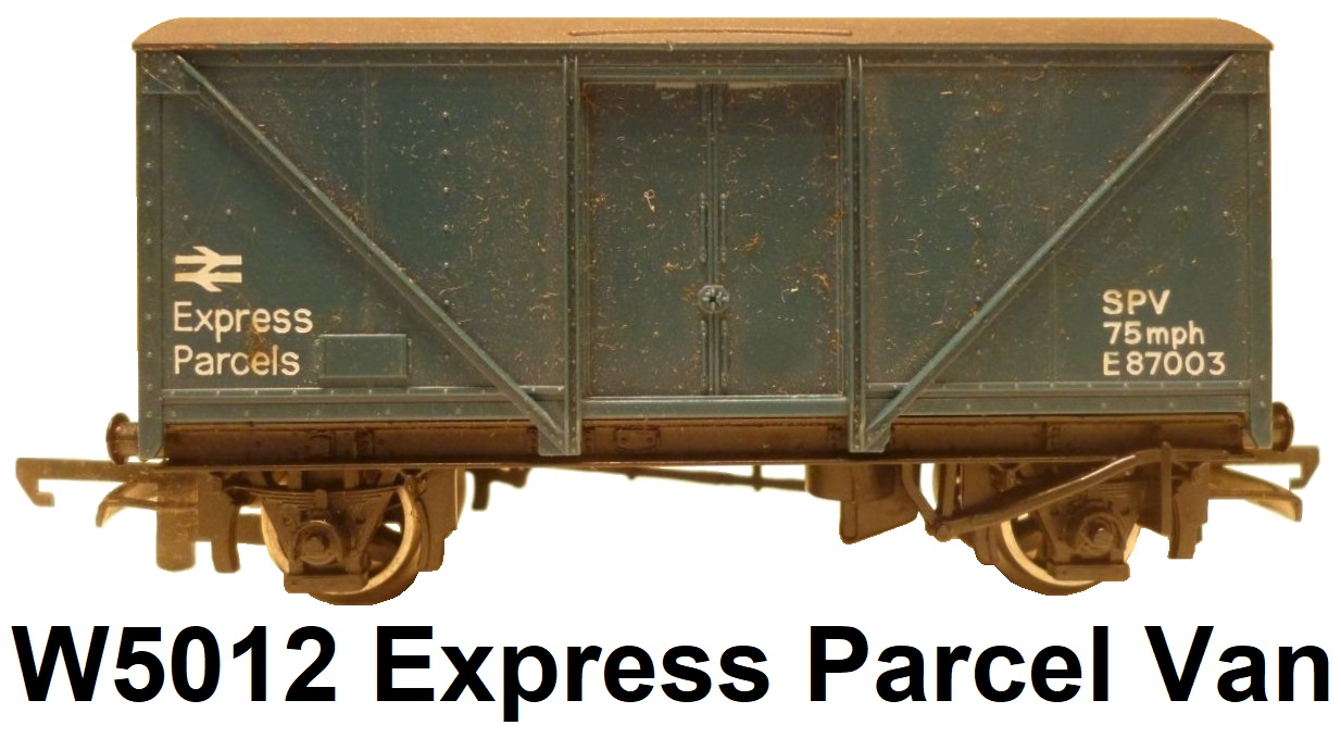 G & R Wrenn Railways OO/HO gauge W5012 Blue Express Parcels Van #87003